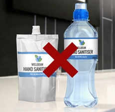 Choose hand sanitiser containers carefully