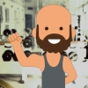 Tim in the gym